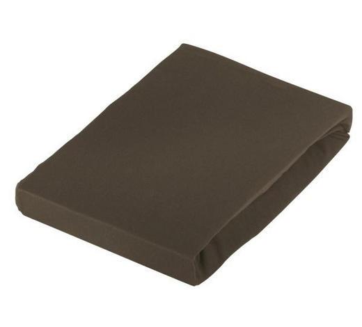 BOXSPRING-SPANNLEINTUCH 100/200 cm - Braun, Basics, Textil (100/200cm) - Novel