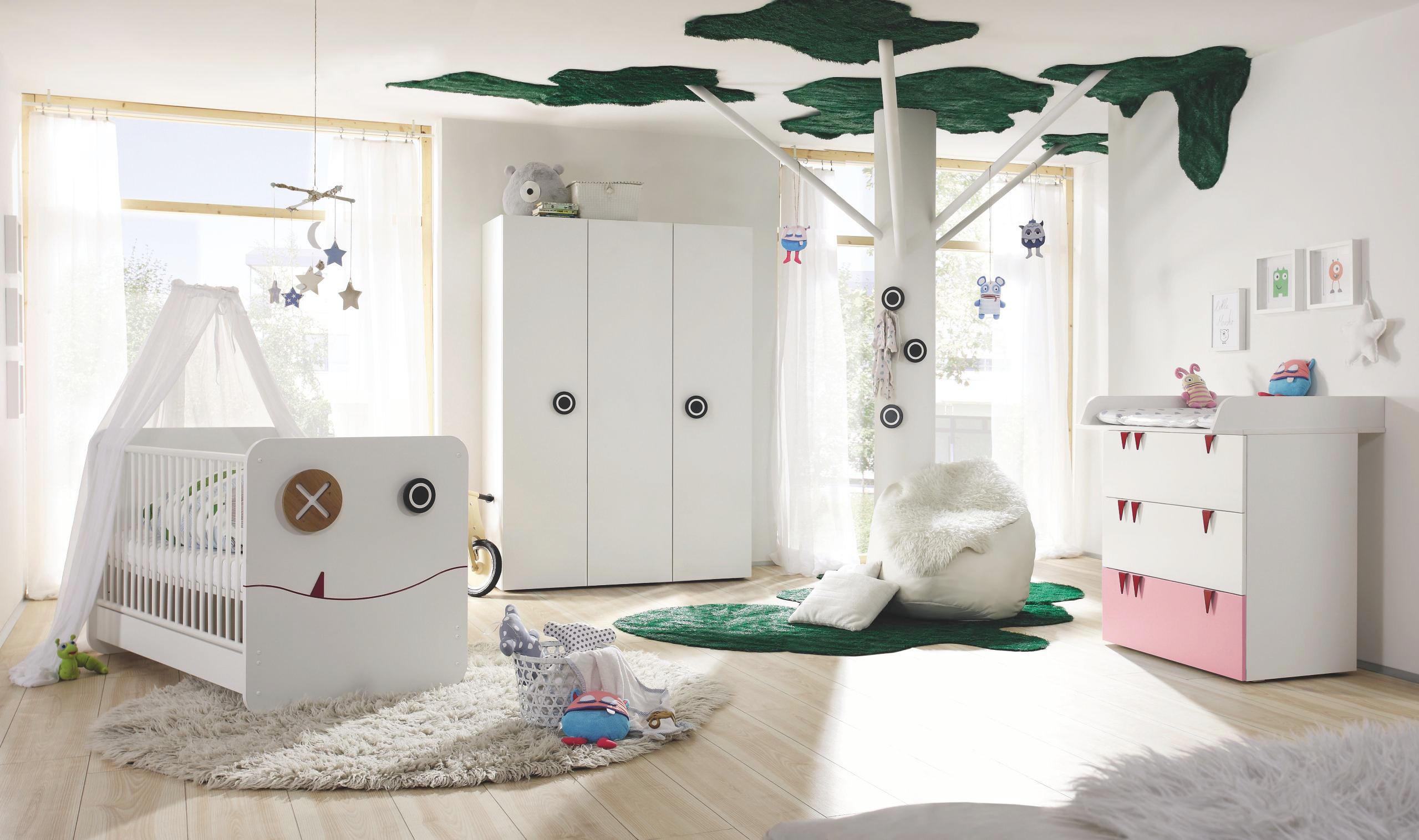 Babyzimmer now! minimo hellrosa weiß online kaufen ➤ xxxlutz