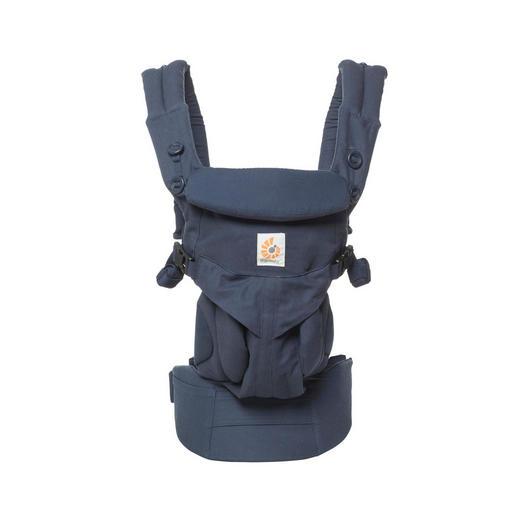 BABYTRAGE - Blau, Basics, Textil (15,3/26,5/23cm) - Ergo Baby