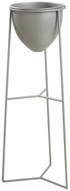 LONAC ZA CVIJEĆE - antracit, Basics, metal (27,5/70,5/26,5cm) - AMBIA HOME