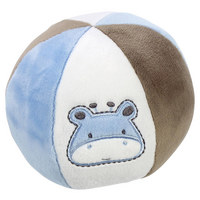 PLYŠOVÝ MÍČ - bílá/modrá, Basics, textil (15cm) - My Baby Lou