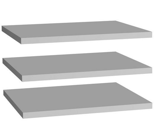 VKLÁDACÍ POLICE, šedá - šedá, Design, kompozitní dřevo (47,8/42/2,2cm) - Carryhome