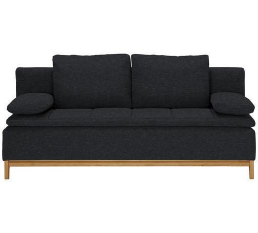 SCHLAFSOFA in Textil Dunkelgrau - Dunkelgrau, MODERN, Holz/Textil (200/96/88cm) - Joka