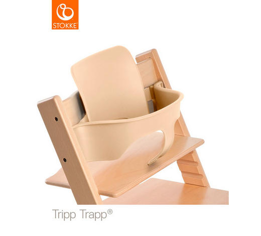 HOCHSTUHLBÜGEL Tripp Trapp - Naturfarben, LIFESTYLE, Kunststoff (43/19/22cm) - Stokke
