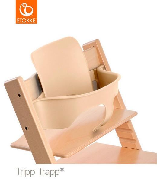 Stokke Tripp Trapp babysits - naturfärgad, Lifestyle, plast (43/19/22cm) - Stokke