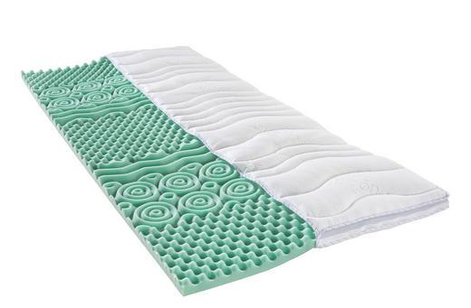 TOPPER 180/200 cm Schaumstoffkern - Weiß, Basics, Textil (180/200cm) - SLEEPTEX