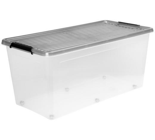 BOX MIT DECKEL 76/39/35 cm - Transparent, Basics, Kunststoff (76/39/35cm) - Plast 1