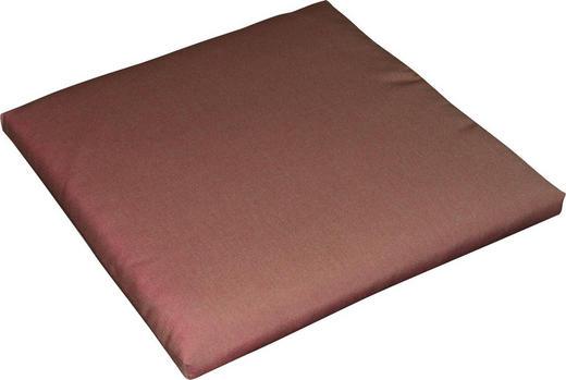 GARTENSITZKISSEN Uni - Beere, Design, Textil (50/50/4cm)