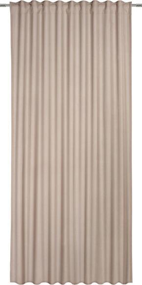 GARDINLÄNGD - naturfärgad, Basics, textil (135/245cm) - Esposa