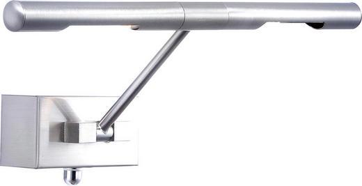 WANDLEUCHTE - Nickelfarben, Basics, Metall (40.5/20cm)