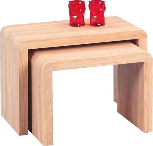 SATZTISCH rechteckig Sonoma Eiche - Sonoma Eiche, Design (59/41/30cm)