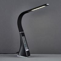LED-SCHREIBTISCHLEUCHTE - Schwarz, Design, Kunststoff/Metall (9/6,5cm) - Novel
