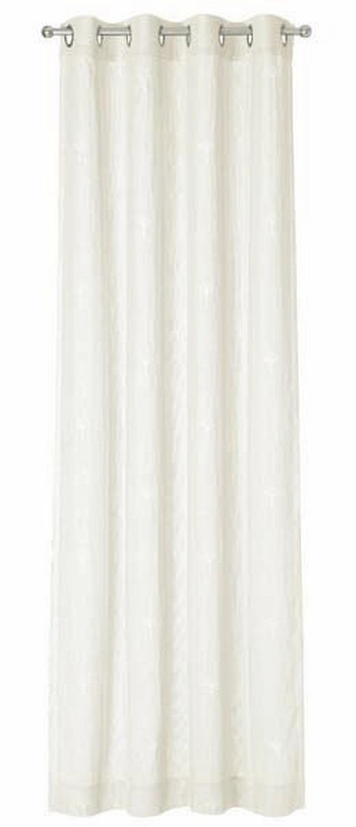 ÖSENSCHAL  blickdicht   140/250 cm - Beige/Creme, Basics, Textil (140/250cm) - Joop!