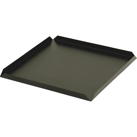 FEUERKORB-BODENPLATTE - Schwarz, Basics, Metall (45/45/5cm)