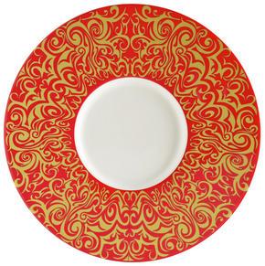 UNDERTALLRIK - orange/vit, Klassisk, keramik (30,2cm) - Novel