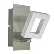 LED REFLEKTOR REAL II - aluminij/nikelj, Design, kovina/umetna masa (14/8/15,5cm) - Novel
