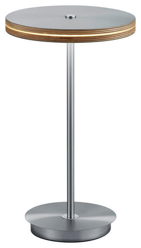 LED BORDSLAMPA - vit, Design, metall/plast (42cm) - Dieter Knoll