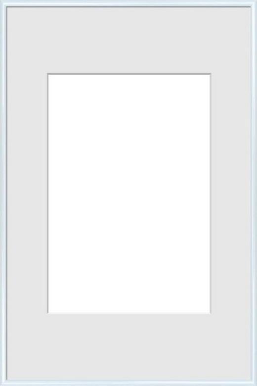 BILDERRAHMEN in Weiß - Weiß, Basics, Glas/Kunststoff (61/91,5cm)