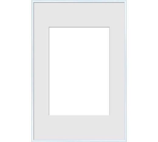 OKVIR ZA SLIKE - bijela, Design, staklo/plastika (61/91,5cm)