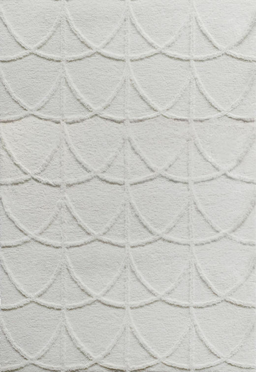 HOCHFLORTEPPICH  160/230 cm  getuftet  Creme - Creme, Trend, Textil (160/230cm) - Novel