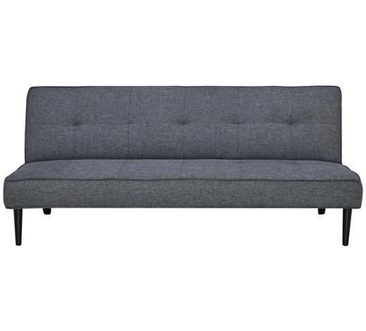 ROZKLÁDACÍ POHOVKA, textil, tmavě šedá - černá/tmavě šedá, Design, textil (180/77/93cm) - Carryhome