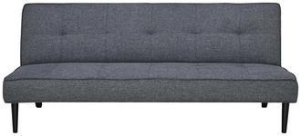 SCHLAFSOFA in Textil Dunkelgrau  - Dunkelgrau/Schwarz, Design, Textil (180/77/93cm) - Carryhome