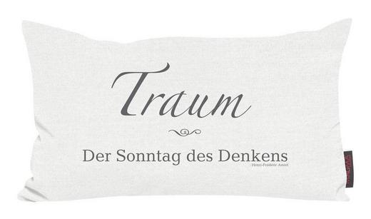 ZIERKISSEN 30/50 cm - Naturfarben, Design, Textil (30/50cm)