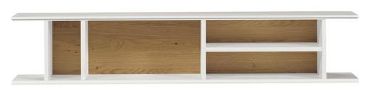 HÄNGEELEMENT Eichefarben, Weiß - Eichefarben/Weiß, Design (128/25,6/25cm) - Now by Hülsta