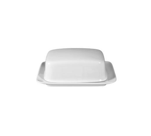 POSODICA ZA MASLO RONDO - bela, Design, keramika (0,25kg) - Seltmann Weiden