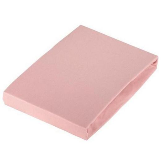 SPANNBETTTUCH Jersey Rosa bügelleicht, für Wasserbetten geeignet - Rosa, Basics, Textil (180/200cm) - Esposa