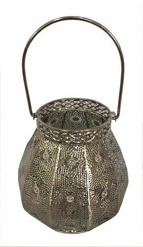LJUSLYKTA - silver, Lifestyle, metall/glas (20/21,5cm) - Ambia Home