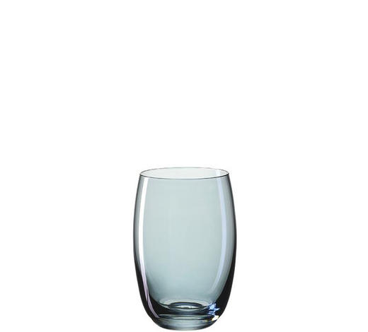 LONGDRINKGLAS 460 ml  - Blau, LIFESTYLE, Glas (0,46l) - Leonardo