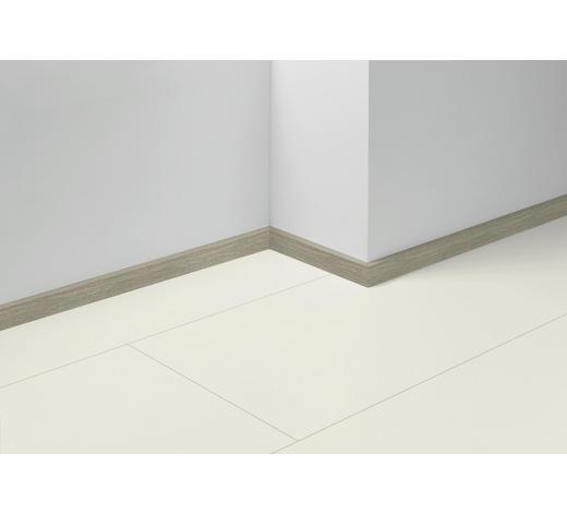 SOCKELLEISTE Grau, Eichefarben - Eichefarben/Grau, Basics, Holzwerkstoff (257/4/1,6cm) - Parador