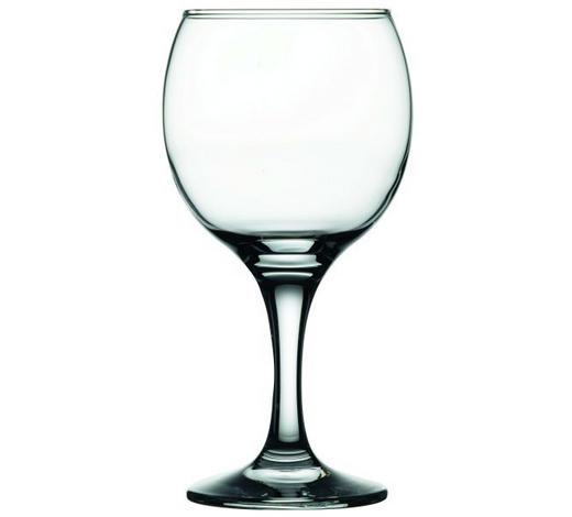 KOZAREC ZA BELO VINO BISTRO - prozorna, Basics, steklo