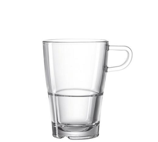 SKLENICE NA KÁVU - čiré, Basics, sklo (11,30/12,00/8,30cm) - Leonardo
