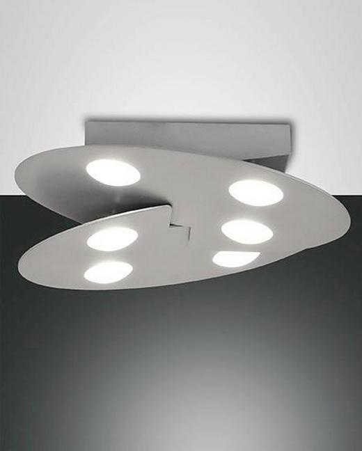 LED-DECKENLEUCHTE - Weiß, Design, Kunststoff/Metall (36/36/8cm)