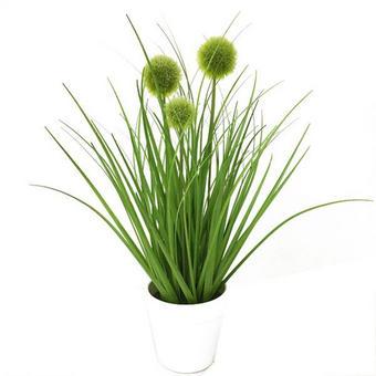 TRAVA DEKORATIVNA - zelena, Basics, plastika (36cm) - AMBIA HOME