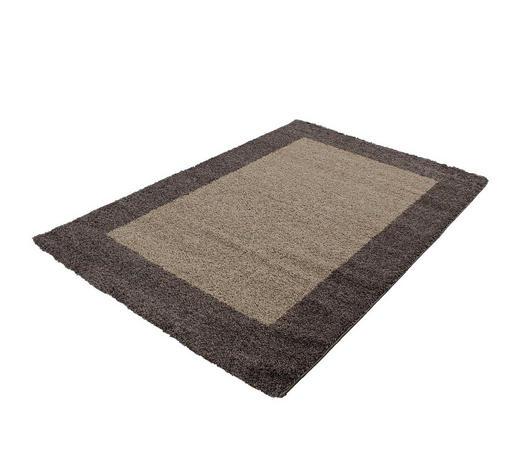 HOCHFLORTEPPICH - Taupe, KONVENTIONELL, Textil (120/170cm) - Novel