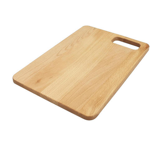 SCHNEIDEBRETT - Naturfarben, Basics, Holz (36/25/1,5cm) - Homeware Profession.