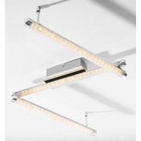 LED DECKENLEUCHTE   Design, Kunststoff/Metall (122/7,5/ ...