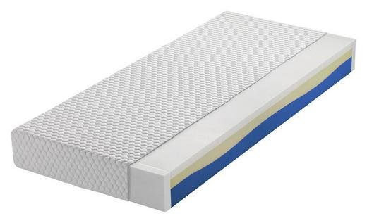 VISCOMATRATZE 90/200 cm - Weiß, Basics, Textil (90/200cm) - Novel