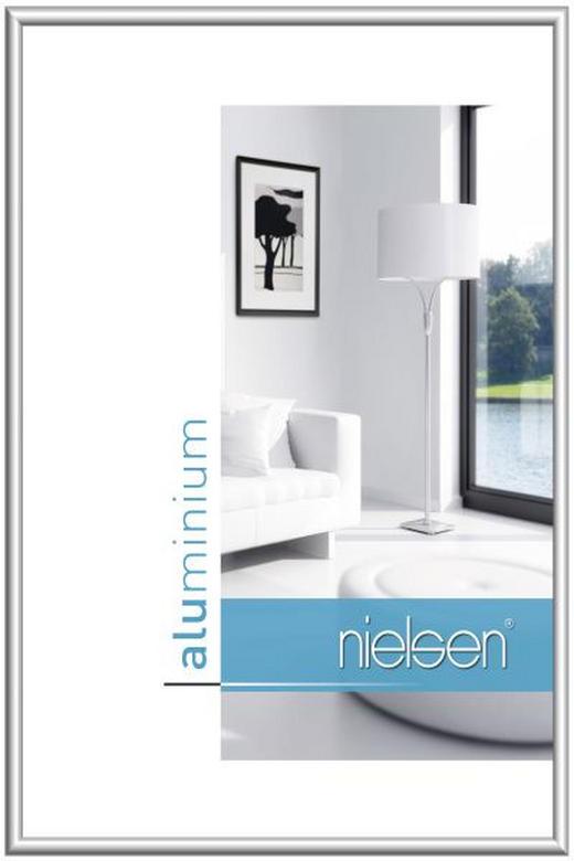 BILDERRAHMEN  Silberfarben - Silberfarben, Metall (35/100cm)