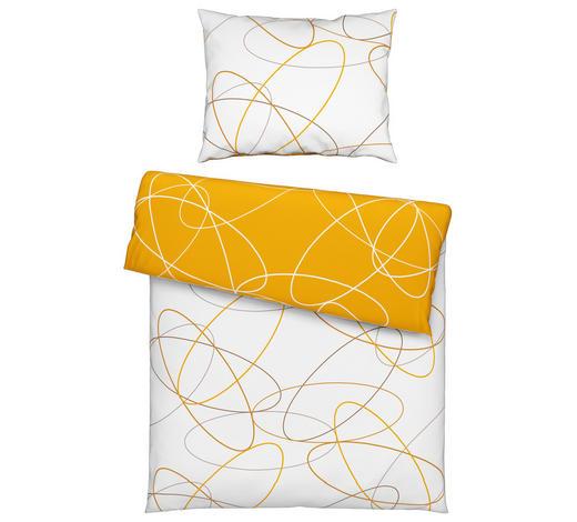 BETTWÄSCHE 140/200 cm - Gelb, KONVENTIONELL, Textil (140/200cm) - Novel