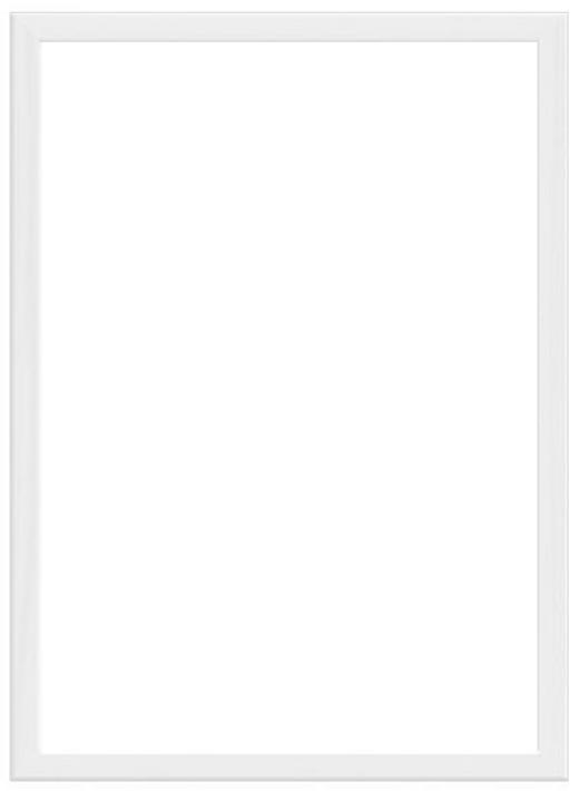BILDERRAHMEN in Weiß - Weiß, Basics, Holz (12/17cm) - Nielsen