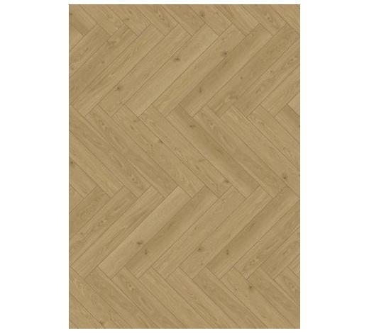 LAMINATBODEN Braun, Eichefarben, Hellbraun  per  m² - Hellbraun/Eichefarben, KONVENTIONELL, Holzwerkstoff (85,8/14,3/0,8cm) - Parador