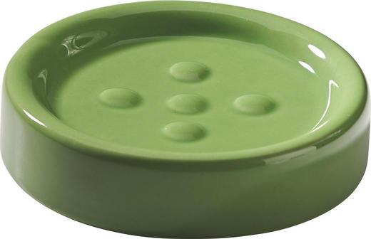 SEIFENSCHALE - Grün, Basics, Keramik (11/11/2.8cm)