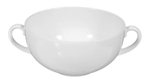 SUPPENSCHALE Porzellan - Weiß, Basics (0,35l) - SELTMANN WEIDEN