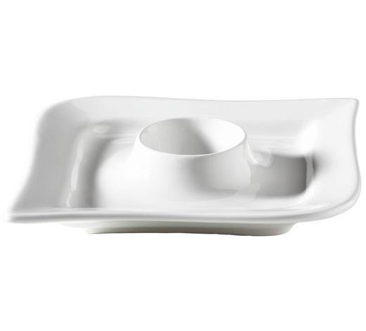 EIERBECHER Keramik  - Weiß, Design, Keramik (13/13/2cm) - Ritzenhoff Breker