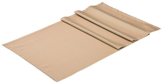 TISCHLÄUFER Textil Hellbraun 50/150 cm - Hellbraun, Basics, Textil (50/150cm)