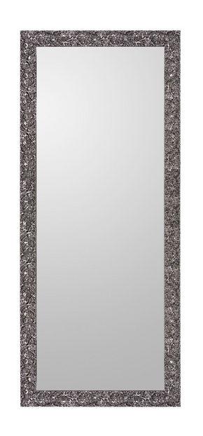 VÄGGSPEGEL - svart, Design, glas/trä (80/190cm)